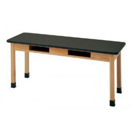 "Table with Compartments24"" x 72"" x 30"" Plastic  Laminate Top"