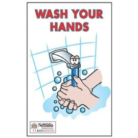 Wash Your Hands - Set of 5 posters