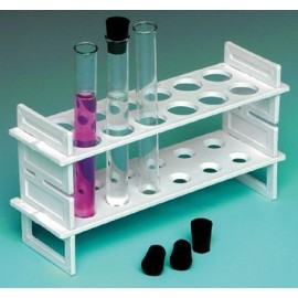Plastic Test Tube Rack 9x3x1""
